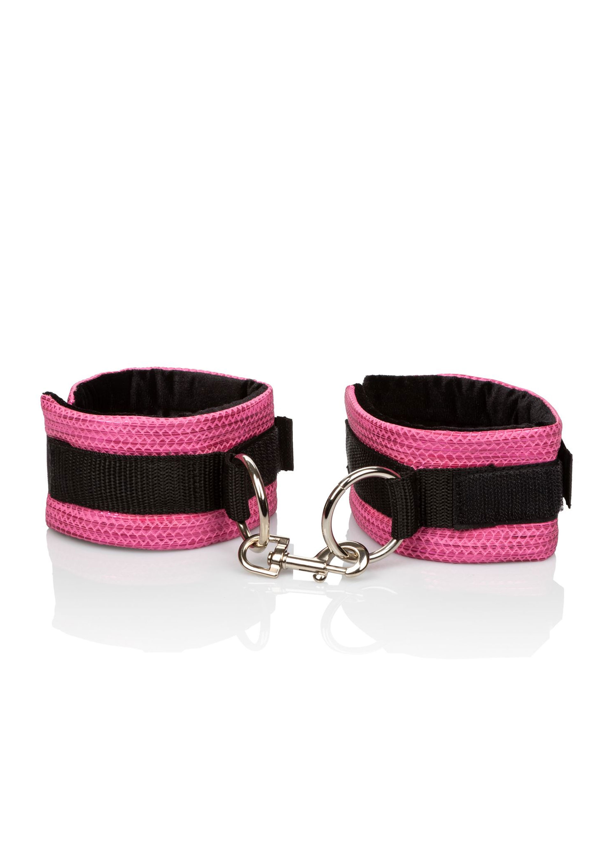 Csillogó pink bilincs, kézre vagy lábra